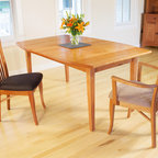 Real Cherry Dining Table | Vermont Woods Studios -
