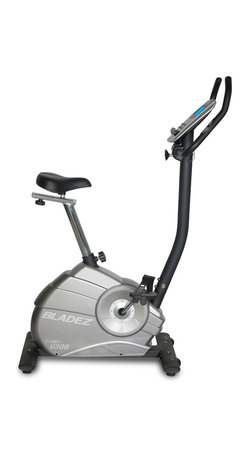 Bladez Fitness - Bladez Fitness U300 Upright Bike - With a feature set not normally seen in its price range, the U300 provides a wide range of adjustability with full vertical and horizontal seat adjustments. The U300 keeps you motivated with a wide range of programs and intensity levels all controlled by a console with a beautiful blue backlit LCD display.