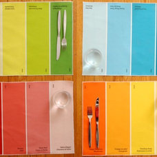 Contemporary Placemats by Etsy