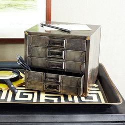 Typesetter's Desk Organizer -
