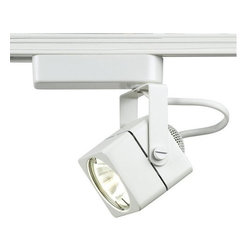 """WAC Lighting - WAC Lighting JHT-802 Low Voltage Track Heads Compatible with Juno Systems - 50W Single light track head for use with """"J"""" type connector. Equipped with a self contained electronic transformer. Available on 6"""", 12"""", 18"""", 36"""" or 48"""" inch extension rods (sold separately)."""