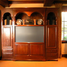 Traditional Home Theater by The French Tradition