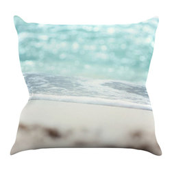 """Kess InHouse - Beth Engel """"Serenity"""" Throw Pillow (18"""" x 18"""") - Rest among the art you love. Transform your hang out room into a hip gallery, that's also comfortable. With this pillow you can create an environment that reflects your unique style. It's amazing what a throw pillow can do to complete a room. (Kess InHouse is not responsible for pillow fighting that may occur as the result of creative stimulation)."""