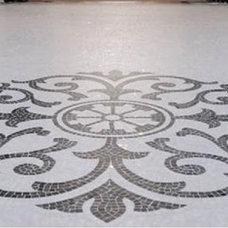 Mediterranean Hall by NewZeugma Custom Luxury Mosaics and Iznik Tiles