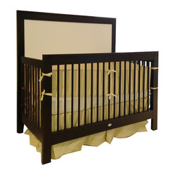 Newport Cottages - Cody Conversion Crib - Handsome and versatile, this contemporary crib is the only bed your little one will ever need. This solid wood piece is designed to grow with your child — transforming from crib to toddler bed to full-sized bed — giving you a durable, enduring piece of furniture that's as at home in a nursery as it is in a teenager's bedroom.