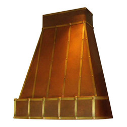"""Milan Heger - Kitchen Hood """"Robin"""" - Hand crafted kitchen hood for the most demanding traditionalist. The beauty of Copper and brass made to order by the best artisan."""