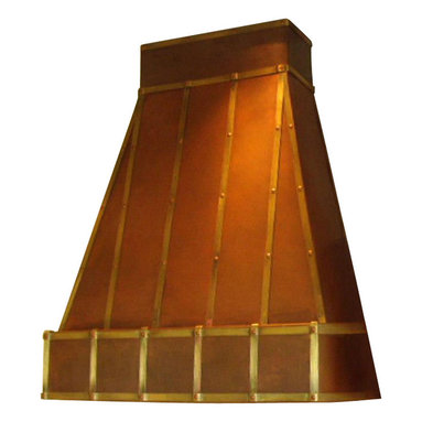"Milan Heger - Kitchen Hood ""Robin"" - Hand crafted kitchen hood for the most demanding traditionalist. The beauty of Copper and brass made to order by the best artisan."