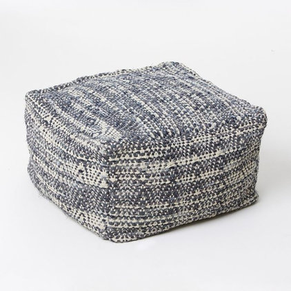 Contemporary Floor Pillows And Poufs by West Elm