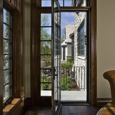 Traditional Living Room by Phantom Screens
