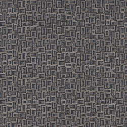Dark Blue Geometric Rectangles Durable Upholstery Fabric By The Yard - P9335 is great for residential, commercial, automotive and hospitality applications. This contract grade fabric is Teflon coated for superior stain resistance, and is very easy to clean and maintain. This material is perfect for restaurants, offices, residential uses, and automotive upholstery.