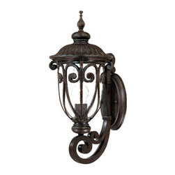 "Acclaim Lighting - Acclaim Lighting 2101 Naples 1 Light 18"" Height Outdoor Wall Sconce - Acclaim Lighting 2101 Naples One Light 18"" Height Outdoor Wall SconceGraceful metal work and decorative embossing highlight this exterior wall sconce from the Naples Collection.Acclaim Lighting 2101 Features:"