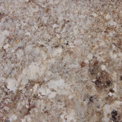 Monte Bello Granite Slab - Nice neutral granite with a plenty of colors to work with, including a nice rich white which makes it a versatile countertop choice.