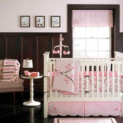 Bananafish - MiGi Pink Blossom 3-Piece Crib Bedding Set - MiGi Pink Blossom Crib Bedding Set