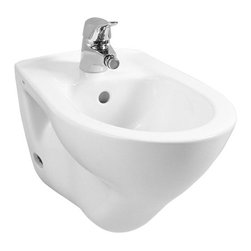 Vitra - Sleek White Ceramic Wall-Mounted Bathroom Bidet - Complete your trendy bath with this high-quality bidet from Vitra.