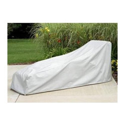 Protective Covers - Protective Covers 1121 Weatherproof Cover for Wicker/Rattan Chaise ... - Protective Covers 1121 Weatherproof Cover for Wicker/Rattan Chaise LoungeWeatherproof vinyl cover for outdoor wicker/rattan chaise loungeVelcro drawstring for firm hold even in wind7-millimeter vinyl shell with fleece backing for durability and scratch resistanceUV-treated to withstand sun exposure; won't crack in cold or come off in windMeasures 77 by 29 by 35 inches (l x w x h  3-year manufacturer warrantyNeed more information on this product? Click here to ask.