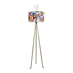 Jane Gray for Stray Dog Designs - Otomi Floor Lamp - Otomi Floor Lamp