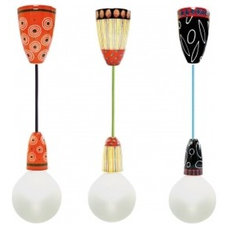 Eclectic Pendant Lighting by nudcollection.com