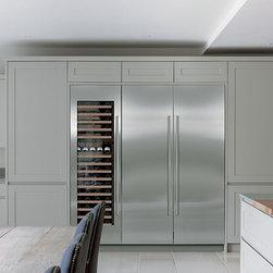"Sub-Zero 24"" All Refrigerator Column Stainless Steel | IC-24R - Sub-Zero 24"" All Refrigerator Column Stainless Steel | IC-24R"