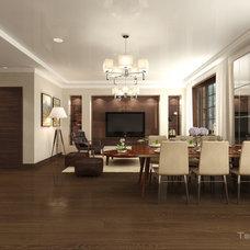 Contemporary Dining Room by Tvoy Designer