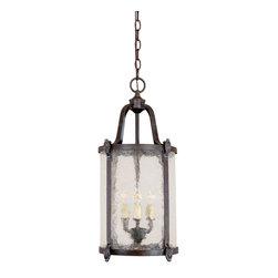 World Imports - World Imports North Hampton Outdoor Hanging Lantern - World Imports 1661-89 Northampton 9-Light Outdoor Hanging Light in Bronze