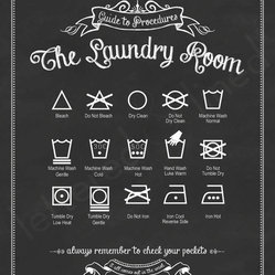 Guide to Procedures: The Laundry Room by Lettered & Lined