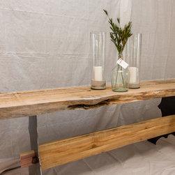 Log Trestel Table - Jake Boyd