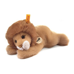 Steiff - Steiff Little Friend Leo Lion - Steiff Leo Lion is handmade of cuddly soft blond woven plush. Ages 3 and up. Machine washable. Handcrafted by Steiff of Germany.