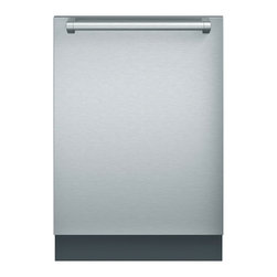 Thermador Topaz Series Fully Integrated Dishwasher, Stainless Steel   DWHD640JFP - The new Thermador Dishwasher Collection of dishwashers delivers powerful performance with absolutely unparalleled flexibility. Our Emerald Dishwasher will compelement any Thermador kitchen.