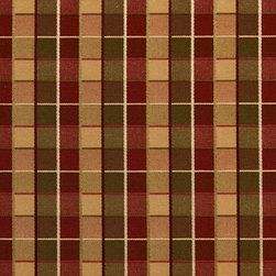 Green And Burgundy Checkered Luxurious Faux Silk Upholstery Fabric By The Yard - This upholstery fabric feels and looks like silk, but is more durable and easier to maintain. This fabric will look great when used for upholstery, window treatments or bedding. This material is sure to standout in any space!