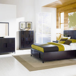 Magnussen Home Furnishings - Nova Storage Bedroom Set -