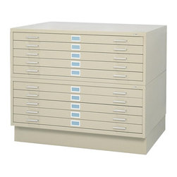 Safco - Safco Flat File with Low Base - SPC082 - Shop for File and Storage Cabinets from ...
