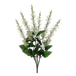 Silk Plants Direct - Silk Plants Direct Delphinium Bush (Pack of 12) - White - Pack of 12. Silk Plants Direct specializes in manufacturing, design and supply of the most life-like, premium quality artificial plants, trees, flowers, arrangements, topiaries and containers for home, office and commercial use. Our Delphinium Bush includes the following: