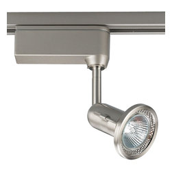 Progress Lighting - Progress Lighting Low Voltage MR16 Fixed Gimbal Track Head X-90-4016P - Utilizing integral electronic transformers with MR-16 low voltage lamps, these fully-adjustable (358° horizontally, 90° vertically) track heads provide dramatic light to any room area. Heads can be easily repositioned on the track to provide lighting in different areas of the room.