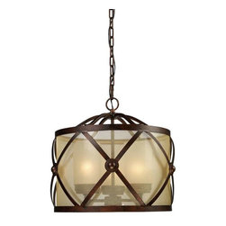 Elk Lighting - Elk Lighting 14051/3 Cumberland Traditional Chandelier in Classic Bronze - Elk Lighting 14051/3 Cumberland Traditional Chandelier in Classic Bronze