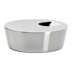 Alessi - Alessi Ape Waste Bowl - This is probably the one time where you don't want to hide a trash can. This attractive bowl for your desktop or countertop features a circular opening, for dunking crumpled paper or discarding scraps during food prep.