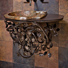 Eclectic Bathroom Vanities And Sink Consoles by Kevin Caron Studios