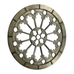 Cyan Design - Cyan Design 35.5 Inch Round Olympia Mirror in Antique - 35.5 Inch Round Olympia Mirror in Antique