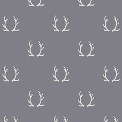 Chasing Paper - Antler Dark Grey Light Grey S002505 Wallpaper Panel - Antler Dark Grey Light Grey S002505 Wallpaper Panel is Self-adhesive.Collection name: Self Adhesive Wallpaper PanelSize of each panel is 2 feet by 4 feet.This wallpaper panel with antler prints in dark grey and light grey tones gives a unique and pretty look to your home. Also, the wallpaper panel is removable and easy to install.
