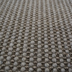 Natural Fiber Rugs & Carpets - This sisal and wool blend Textured Linear Loop pattern is offered for wall to wall installation, as area rugs of any size up to 13'wide and runners.  Choose from a variety of edge bindings including serging, wide cotton, linen, leather, tapestry fabric, Sunbrella and more.  Purchase at Hemphill's Rugs & Carpets Orange County, CA