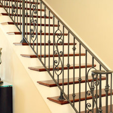 Traditional Staircase by Tyson Construction