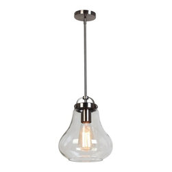 Access Lighting - Flux Retro Inspired 1-lt Pendant - Small - Flux Retro Inspired 1-lt Pendant - Small
