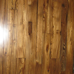 Antique Elm Flooring -
