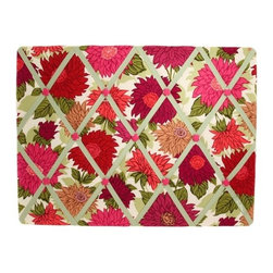 Vera Bradley Ribbon Board Hello Dahlia! - This pop floral grosgrain ribbon board is great for a kitchen desk or in the office of someone who likes a bright flourish than she likes clean modern lines.