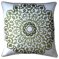 Mediterranean Decorative Pillows Mahndi Laster Pillow