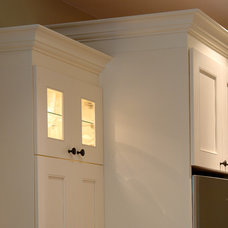 Traditional Kitchen by Square Footage Custom Kitchens & Bath Inc.
