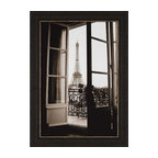 Paragon - Through French Doors - Framed Art - Each product is custom made upon order so there might be small variations from the picture displayed. No two pieces are exactly alike.