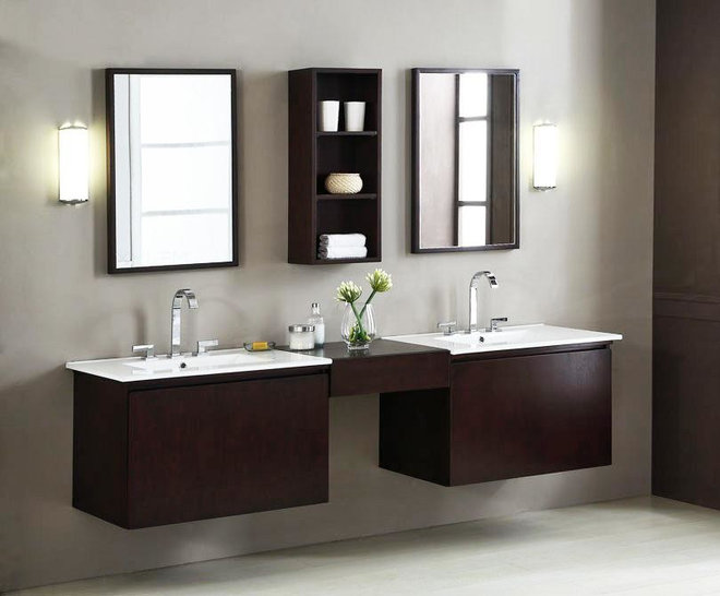 Contemporary Bathroom Vanities And Sink Consoles by MegaSupplyStore