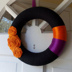 Halloween Wreath by Belle Rose Designs