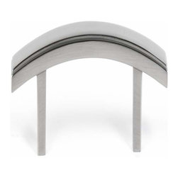 Alno Inc. - Alno Creations Arch 4 Inch Pull Satin Nickel A419-4-Sn - Alno Creations Arch 4 Inch Pull Satin Nickel A419-4-Sn