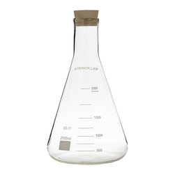 Seletti - Selab Chemical Vase - These chemistry curios are available in two designs and are suitable for repurposing as flower vases or wine decanters.